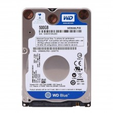 HDD INTERNAL 2,5 500GB (BLUE)5400rpm 6GB/S 16MBWESTERN DIGITAL