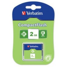 CFC 2GB COMPACT FLASH CARD VERBATIM