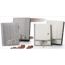 BANDINELLI 36X36-80SH IVORY LEATHER ALBUM
