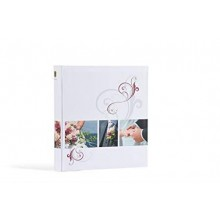 HENZO WED-ALBUM 280X305mm WHITE/80 WHITE PAGES LOVE STORY