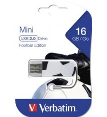 USB 16GB FOOTBALL EDITION MINI DRIVE VERBATIM