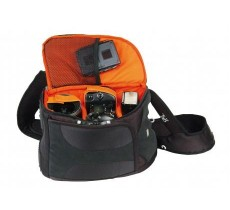 BACKPACK DIGITAL CAMERA BAG BLACK XPERT SHOT