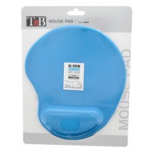 TNB ERGO DESIGN MOUSE PAD GEL LIGHT BLUE