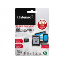 MicroSDHC 128GB CARD UHS-I WITH ADAPTOR INTENSO-3423491
