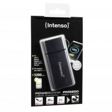 INTENSO MOBILE POWERBANK PM5200 METAL FINISH BLACK-7323520