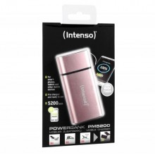 INTENSO MOBILE POWERBANK PM5200 METAL FINISH ROSE-7323523