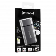 INTENSO MOBILE POWERBANK PM5200 METAL FINISH GREY-7323524