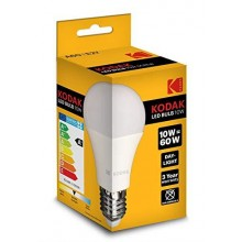 KODAK LED DAY A60 E27 10W=60W A+ ND  85% 3YW 25KH 806 LUM
