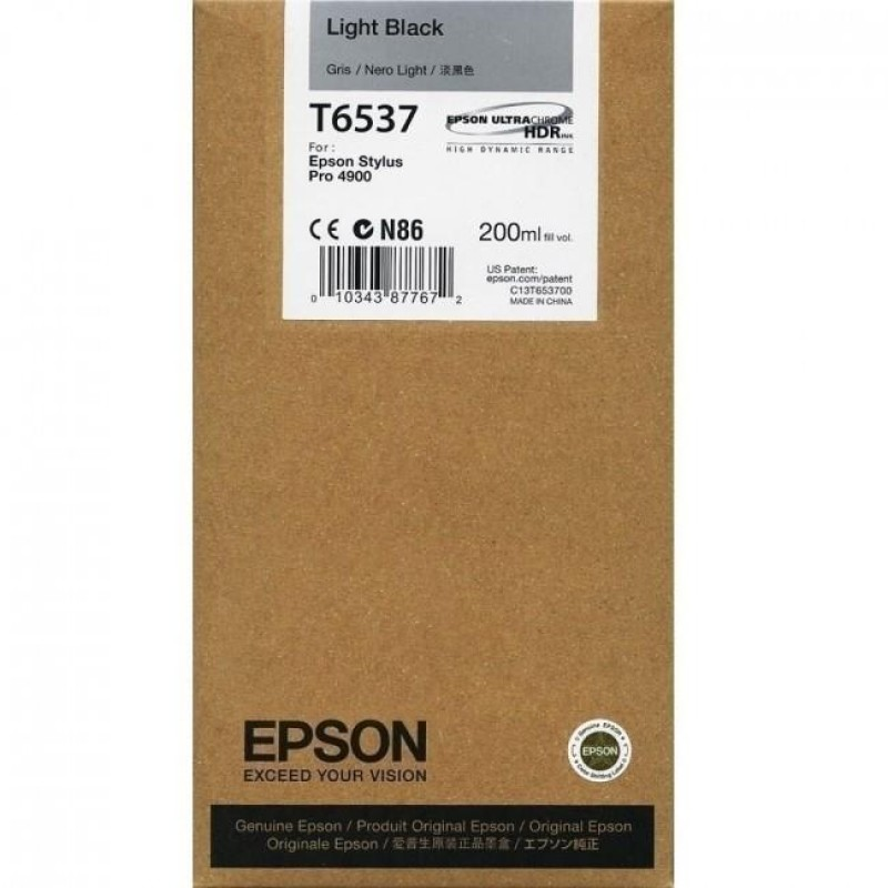 EPSON.LBK.STYLUS PRO 4900(200ml)VIVID LIGHT BLACK