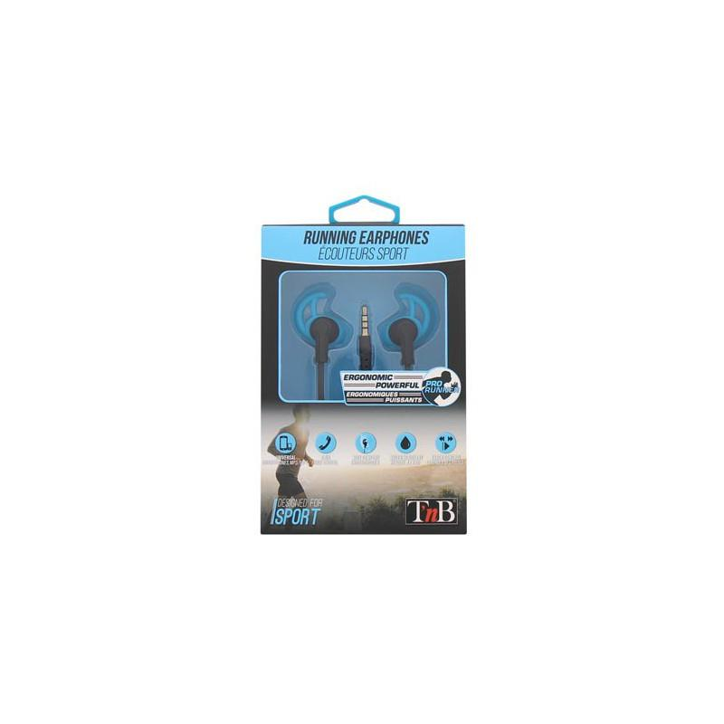 TNB HANDS FREE KIT EARPHONES BULT-IN MICROPHONE BLUE/BLACK