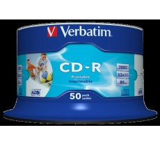 CD-R GENERIC PRINTABLE NO-ID SP-50 FULL FACE