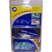 AF CD/DVD/PLAY STATION LENSCLENE KIT PLUS FREE CDC025