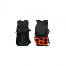 TNB EXPERT  SHOT 3-SEMI-PROFESSIONALCAMERA BACKPACK BLACK/ORANGE