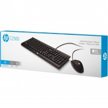 HP C2500 WIRED USB KEYBOARD+MOUSE SET ENGLISH.