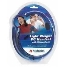 LIGHT WEIGHT TELEPHONE HEADSET WITH MICR