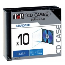 TNB CD CASE SLIM 10PCS 5,2mm