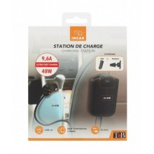 TNB CAR CHARGER 2FRONT+2REAR USB