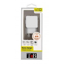 TNB 2.1A MAINS 2 USB CHARGER WHITE