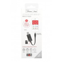 TNB MICRO SD CARD READER/IPHONE/IPAD/LIGHTNING/USB 3.1.