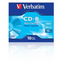 CD-R 52X-JC-10PK-800MB-90-High Capacity-VERBATIM
